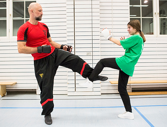 Wing Tsun Jugendtraining