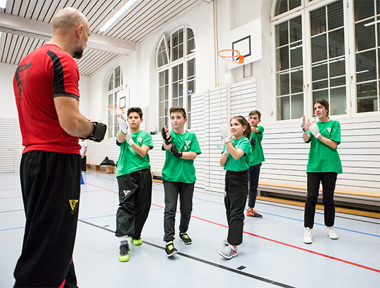 Wing Tsun Kindertraining
